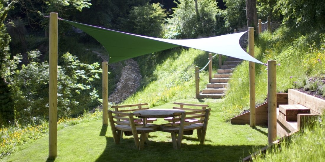 Bise Garden Shade Sail by Tensile Fabric Structures
