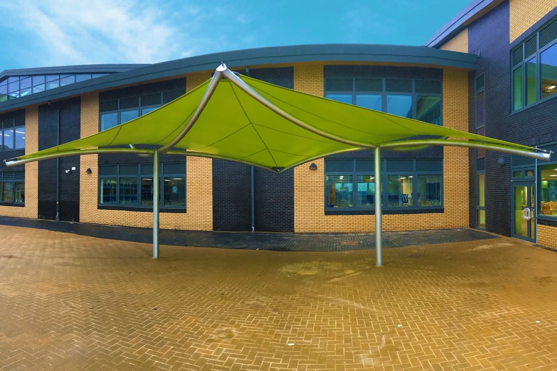 Bora Fabric Canopy by Tensile Fabric Structures Ltd