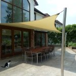 Bespoke Tensile Fabric Garden Canopy in London