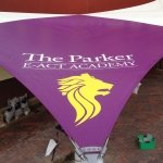 Parker E-Act Academy Tensile Fabric Structure