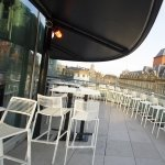 Balcony Canopy for Alchemist Bar Leeds Trinity Shopping Centre