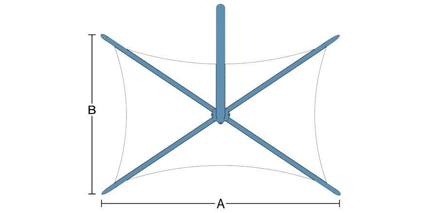 Crest dimensions