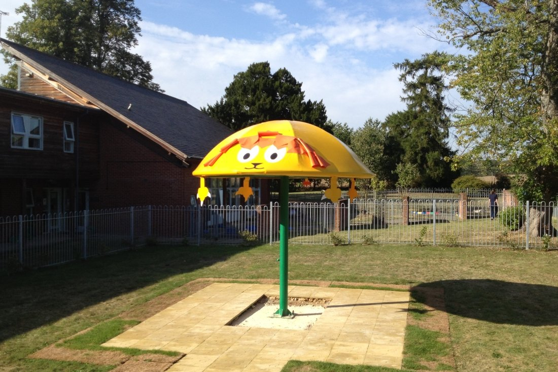 Lion Creature Canopy by Tensile Fabric Structures Ltd