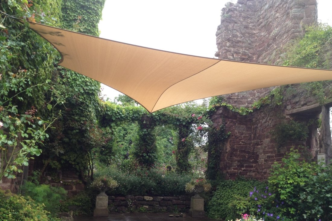Bespoke Garden Shade Sails by Tensile Fabric Structures Ltd