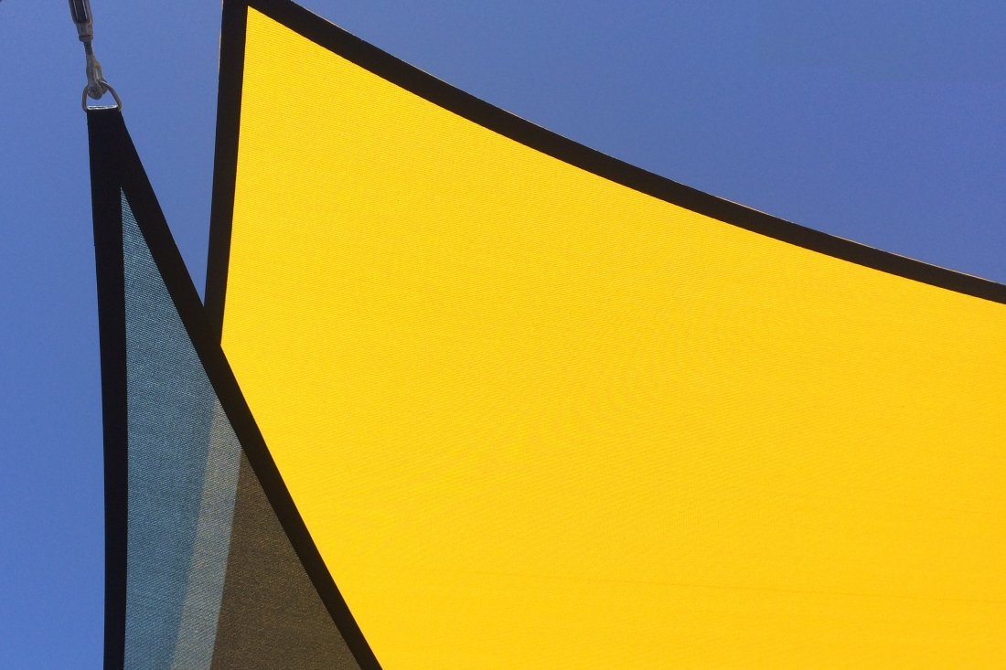 Replacement Commercial Shade Sails by Tensile Fabric Structures Ltd