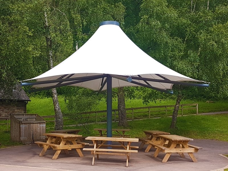 Sahara Single Conic by Tensile Fabric Structures Ltd