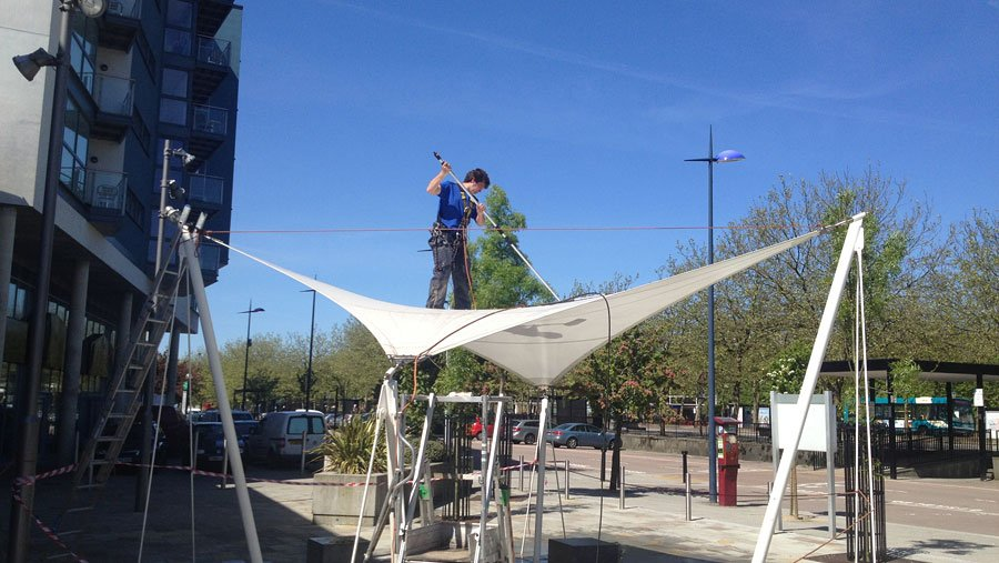 Canopy cleaning / maintenance