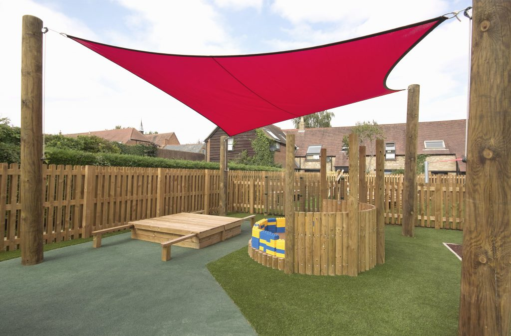 Bespoke Shade Sail for Summerfield School