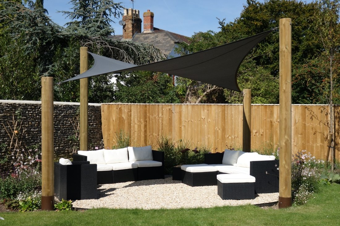 Bise Garden Shade Sail by Tensile Fabric Structures Ltd